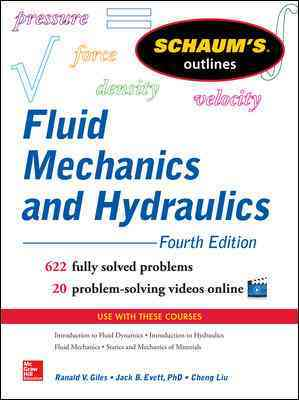 Schaum's Outline of Fluid Mechanics and Hydraulics By Liu, Cheng
